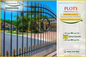 Affordable Residential plot springwoods city - deen dayal jan awas yojana(ddjay)