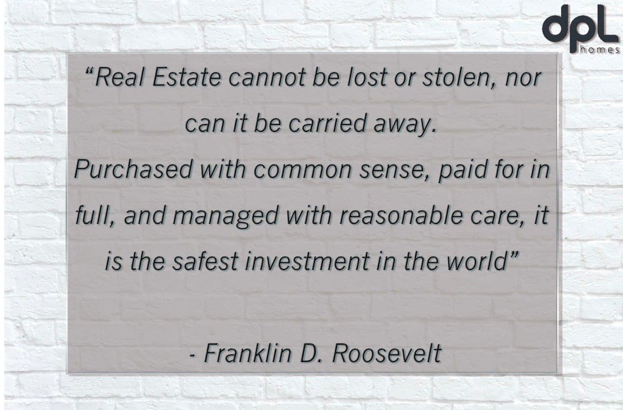 why real estate is the safest option